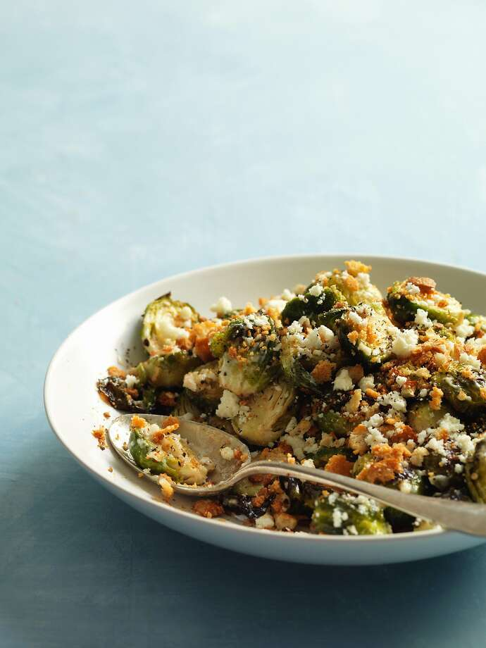 Rich Table's Caesar salad substitutes Brussels sprouts for romaine. Photo: John Lee / Special To The Chronicle