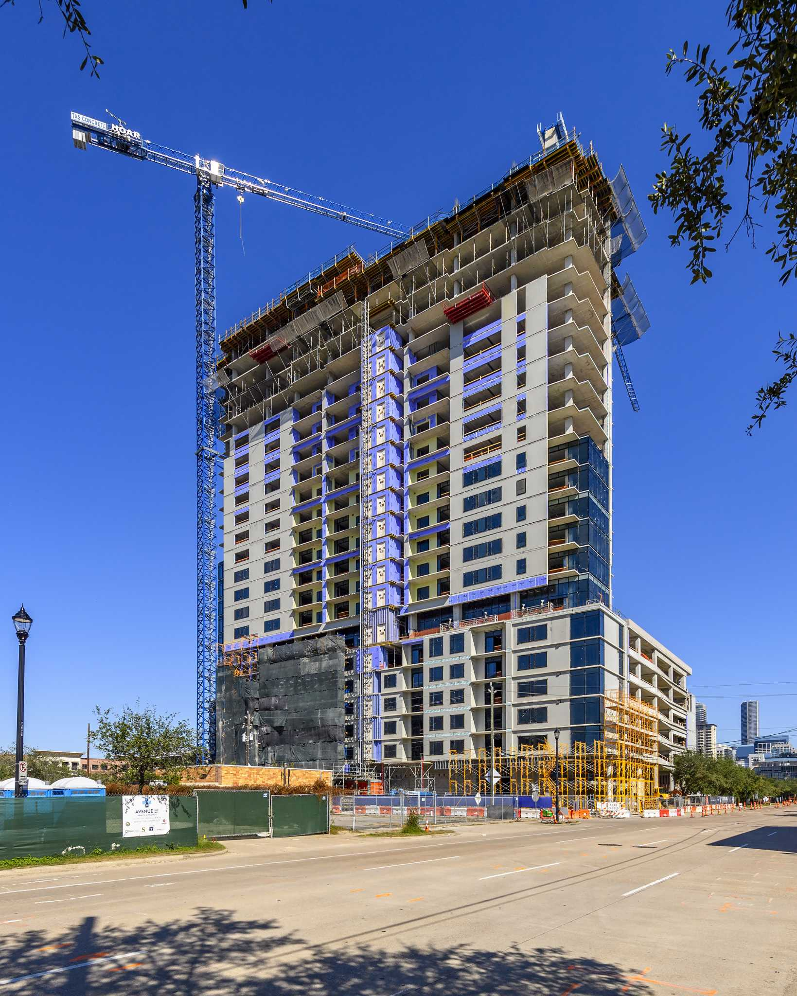 Caydon Tops Out 27-story Apartment Tower In Midtown