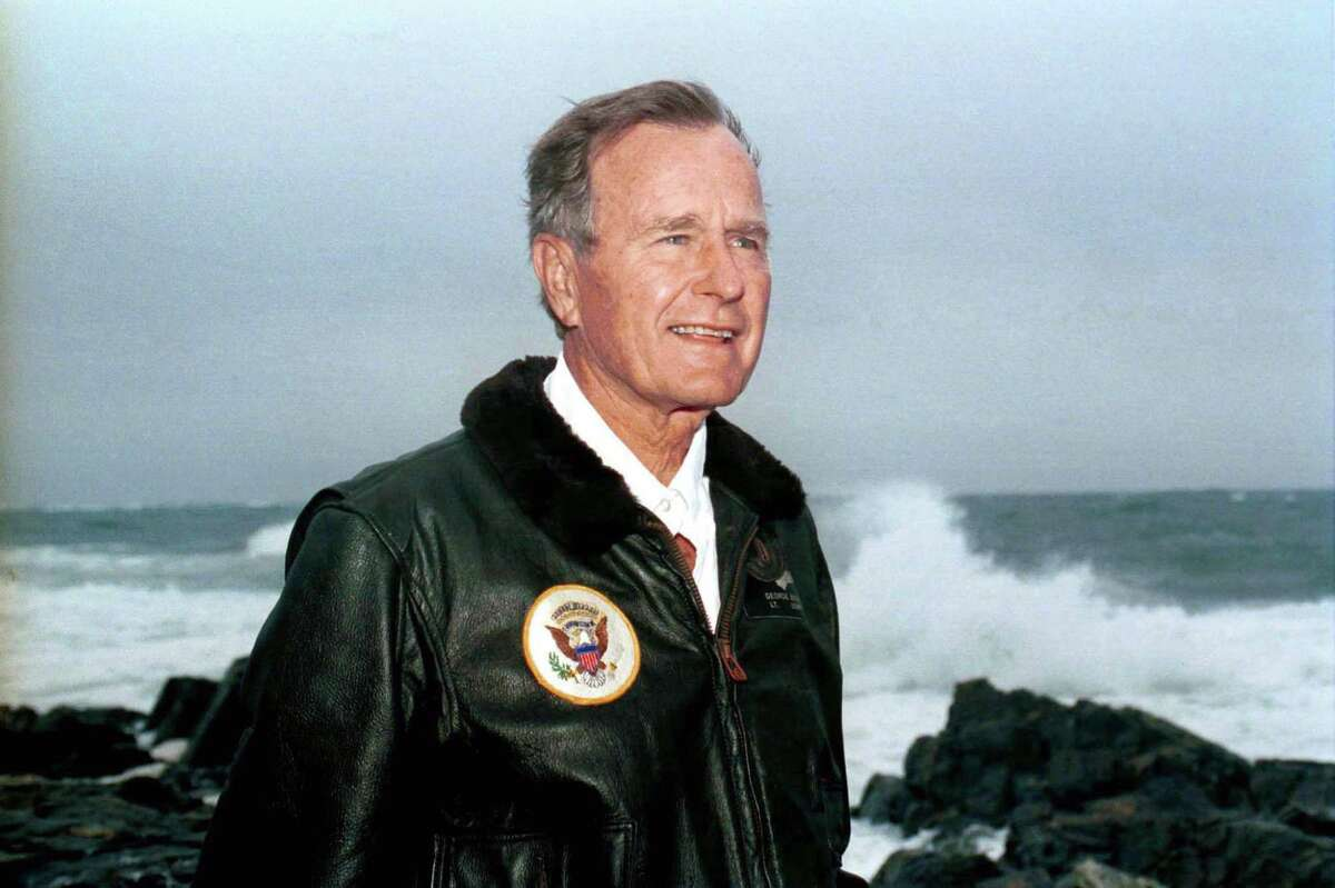 George H.W. Bush, former President of the United States In addition to being the Commander-in-Chief, the Milton, Massachusetts native served as United States congressman. H.W. Bush represented the 7th Congressional District (located in Houston). Over time, he made Houston his home. The 41st President of the United States died on Nov. 30, 2018.