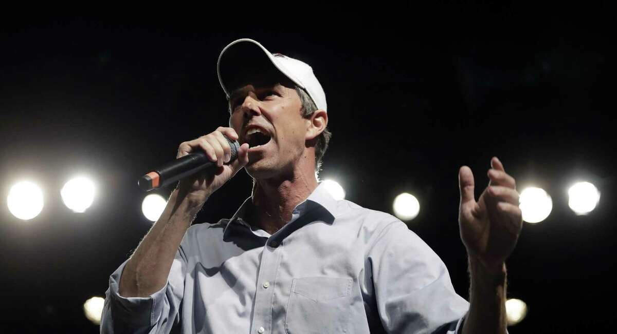 """In this Nov. 5, 2018, file photo, Rep. Beto O'Rourke, D-El Paso, the 2018 Democratic candidate for U.S. Senate in Texas, speaks during a campaign rally in El Paso. >>See the """"firsts"""" from the midterm elections in the photos that follow..."""