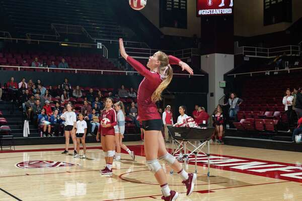Stanford's Jenna Gray blends volleyball and javelin seamlessly