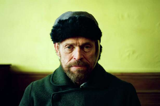 """This images released by CBS Films shows Willem Dafoe as Vincent Van Gogh in """"At Eternity's Gate."""" On Thursday, Dec. 6, 2018, Dafoe was nominated for a Golden Globe award for lead actor in a motion picture drama for his role in the film. The 76th Golden Globe Awards will be held on Sunday, Jan. 6. (Lily Gavin/CBS Films via AP)"""