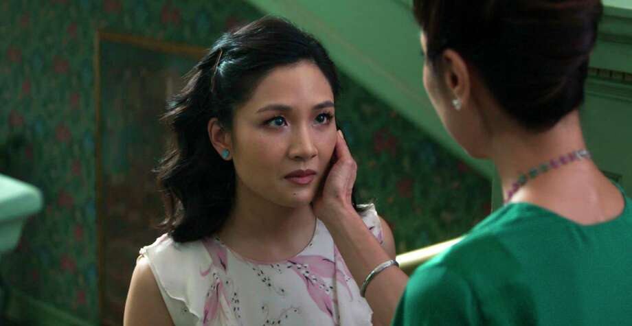"This image released by Warner Bros. Entertainment shows Constance Wu, left, and Michelle Yeoh in a scene from the film ""Crazy Rich Asians."" (Warner Bros. Entertainment via AP) / © 2017 Warner Bros. Entertainment Inc. and RatPac-Dune Entertain"