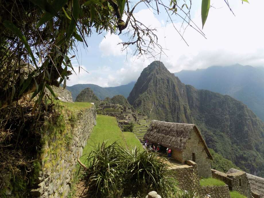This photo shows the ruins of the Incan city of  Machu Picchu at an elevation of 7,500 feet in the Andes Mountains.  I took the photo in April 2018 on a trip to Peru. (Michael Nardacci of Albany)