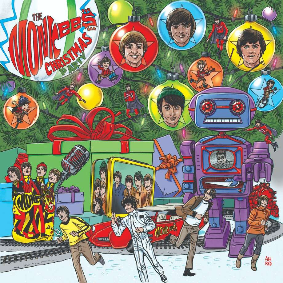"""The Monkees' first holiday-themed album is """"Christmas Party."""" Photo: Rhino"""