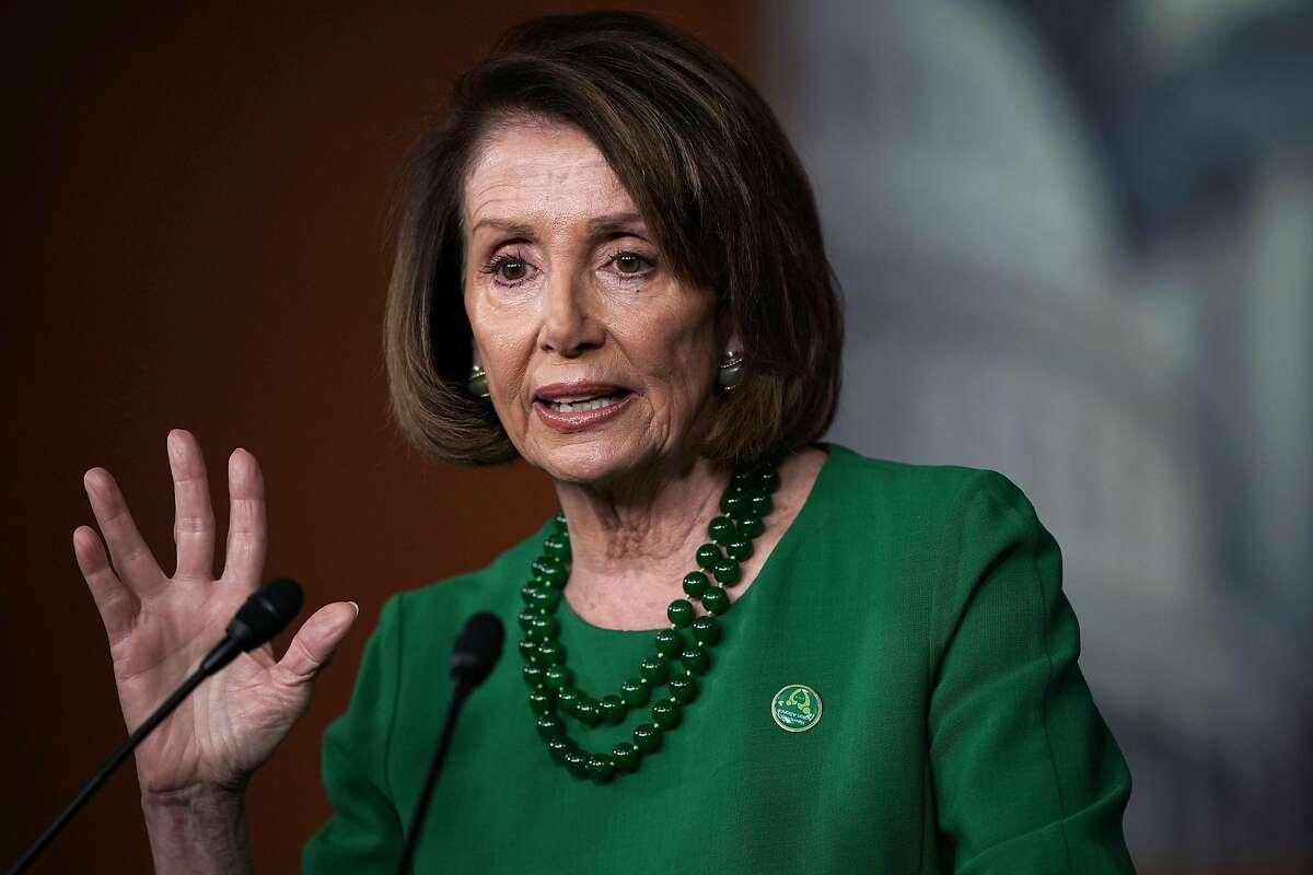 Rep. Nancy Pelosi (D-CA) on December 6, 2018 in Washington, DC.