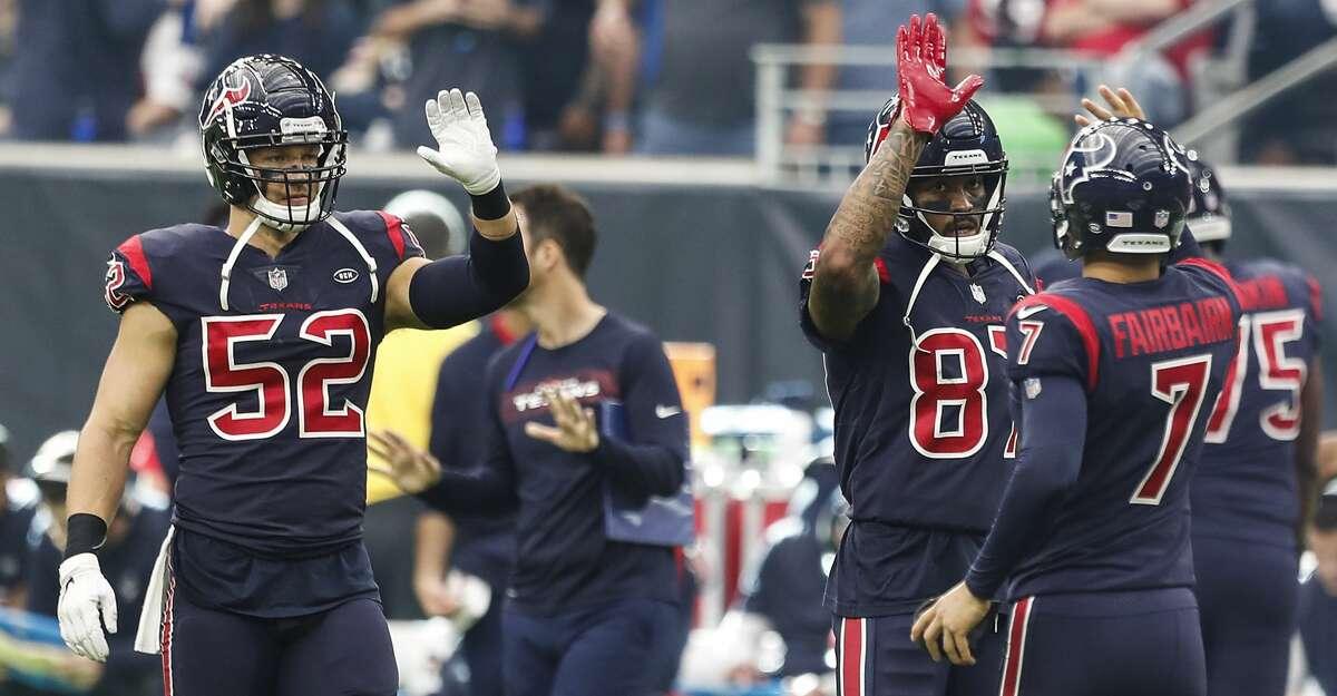 Indianapolis plus-5 at Houston Texans 27-24