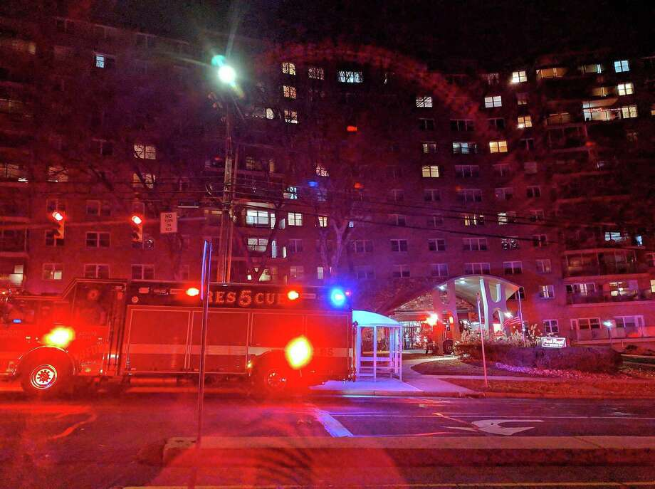 Bridgeport, Conn., firefighters responded to a condo complex for a fire on Dec. 6, 2018. Photo: Contributed Photo / Contributed Photo / Connecticut Post Contributed