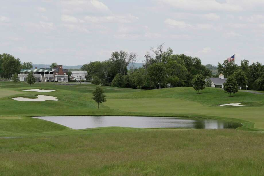 This May 24, 2017 file photo shows a view of Trump National Golf Club in Bedminster, N.J. Two women who cleaned rooms set aside for President Donald Trump at one of his golf resorts in New Jersey say they used false papers to get hired, their supervisors knew it and that many employees there also lack legal documents. The Trump Organization did not answer questions emailed by The Associated Press about the allegations, but said in a statement Thursday, Dec. 6, 2018, that it has the highest standards for job applicants. Photo: Julio Cortez, AP / Copyright 2018 The Associated Press. All rights reserved.