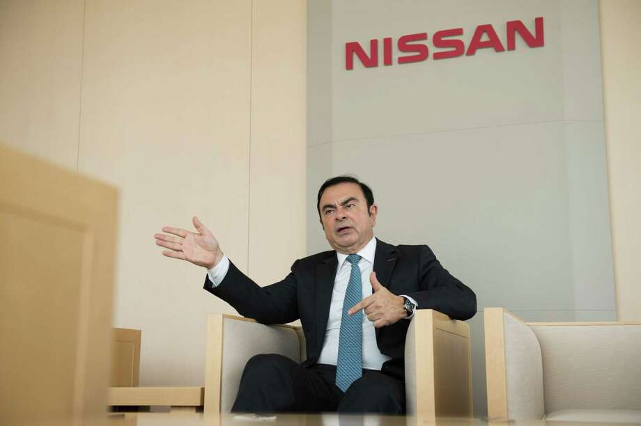 Carlos Ghosn, former chairman of Nissan, during an interview in Yokohama, Japan, on Feb. 23, 2017. Photo: Bloomberg Photo By Akio Kon. / © 2018 Bloomberg Finance LP