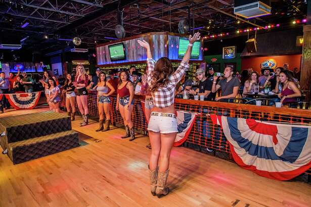 Cowboys and cowgirls got 'wild' Thursday night at San Antonio's country bar Wild West.