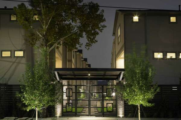 The courtyard is intended to make the project stand out.
