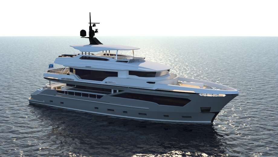 AvA Yachts, Turkey-based boat builder, said Tony Parker, who is currently playing his first season with the Charlotte Hornets, ordered the second hull of the company's Kando series. Photo: Courtesy, AvA Yachts