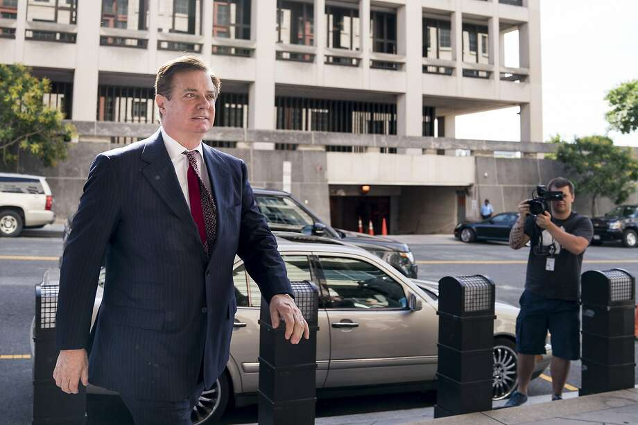 FILE -- Paul Manafort, President Donald Trump's former campaign chairman, arrives at federal court in Washington, June 15, 2018. The special counsel's team has accused Manafort of repeatedly lying to investigators, and they pulled out of their plea deal with him because, they said, he was repeatedly untruthful. They are expected to disclose details about his falsehoods on Dec. 7, 2018. (Erin Schaff/The New York Times) Photo: ERIN SCHAFF, NYT