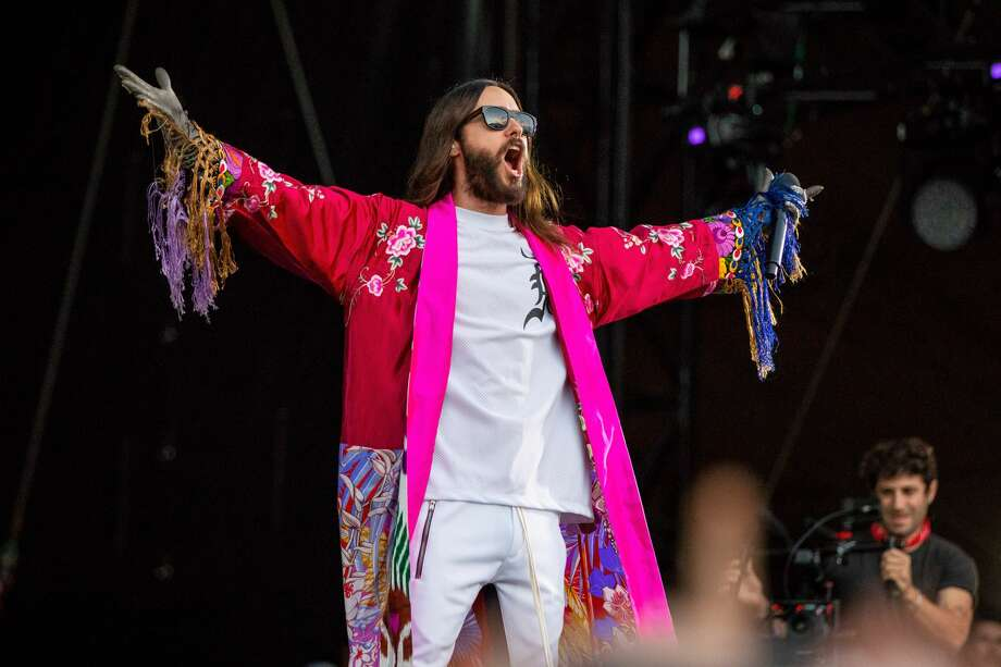ATLANTA, GA - SEPTEMBER 15:  Jared Leto of 30 Seconds To Mars performs during Day 1 of Music Midtown Festival at Piedmont Park on September 15, 2018 in Atlanta, Georgia.  (Photo by Scott Legato/Getty Images for Live Nation) Photo: Scott Legato/Getty Images For Live Nation