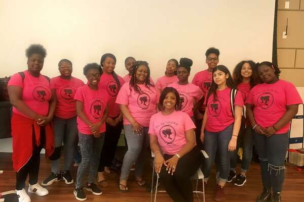 The D3 Academy visits New Haven's Young Girls Rock Summit.