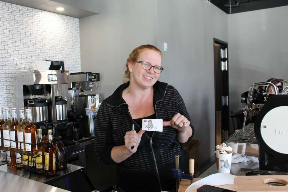 The hand cafe, Midland's newest coffee shop, is now open in north Midland. Photo: Midland Reporter-Telegram