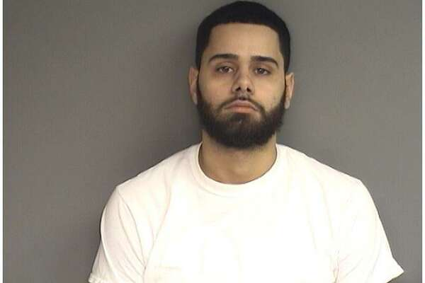 Edward Gusti, 26, of New Haven, was charged with being in possession of 241 bags in of heroin in Stamford on Thursday, Dec. 6, 2018.