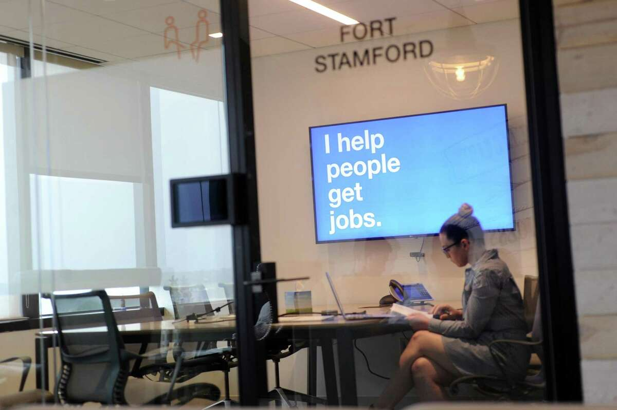 Indeed's Stamford offices are located at 177 Broad St., in downtown Stamford, Conn.