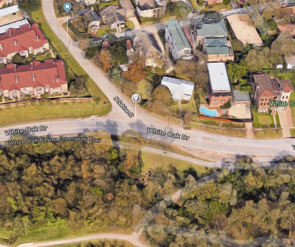 White Oak Drive at North Sabine