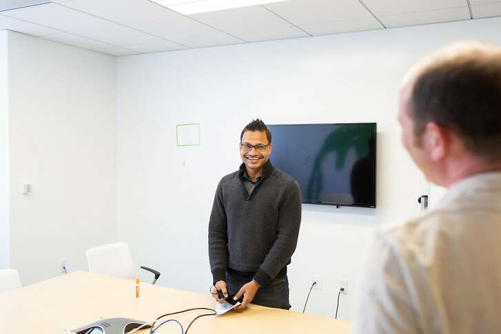AppDynamics founder Jyoti Bansal in at their office in San Francisco, Calif., Tuesday, October 7, 2014.   Jason Henry for The Wall Street Journal IPOWAIT