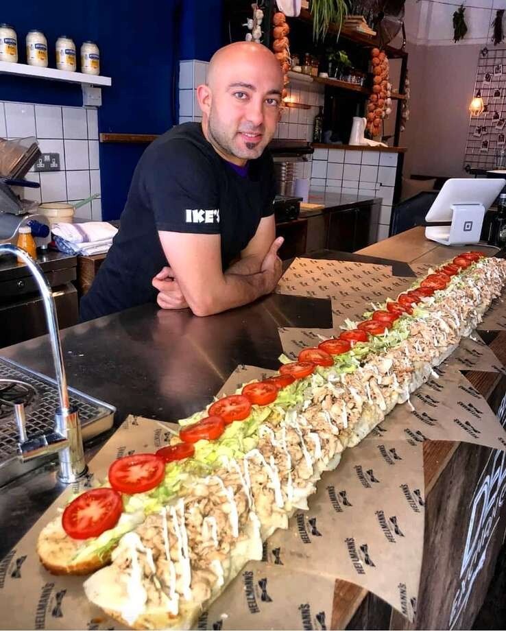 Ike Shehadeh, who created the first Ike's Place sandwich shop in San Francisco in 2007, has expanded and now has 50 stores in three states. But Shehadeh says he's done looking for another place in SF since the lease expired on his flagship store in 2016. Photo: Courtesy Photo