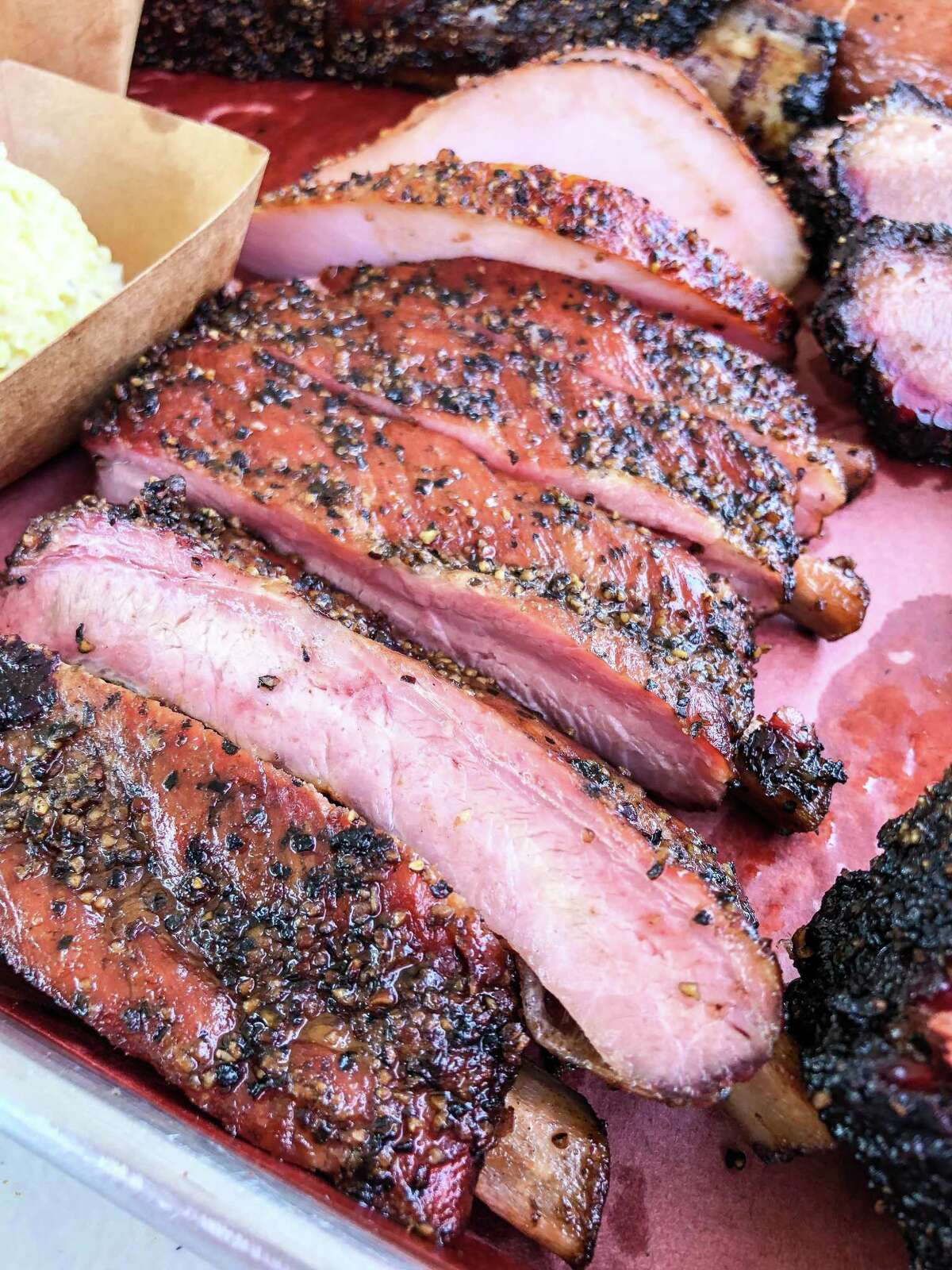 Pork ribs at Reveille Barbecue Co.