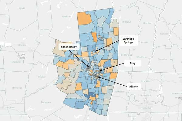 Interactive: Maps reveal the richest and poorest neighborhoods