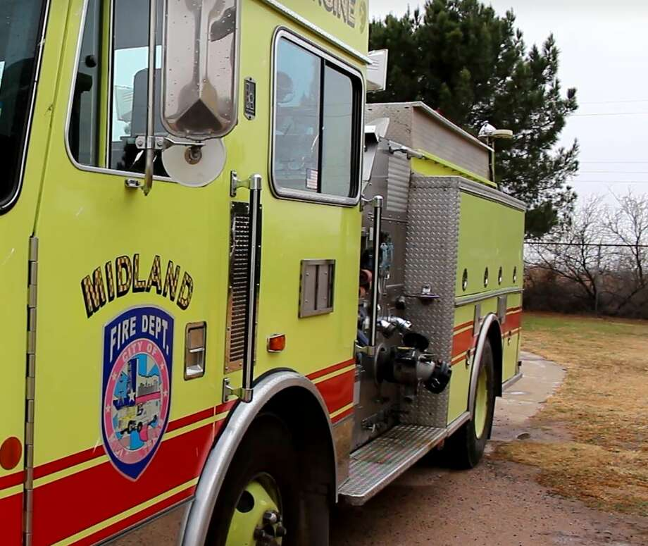 """The Midland Fire Department responded to the 6000 block of Corral Drive at about midnight Thursday. No one was injured in the fire, but """"the home was a total loss,"""" according to the email."""