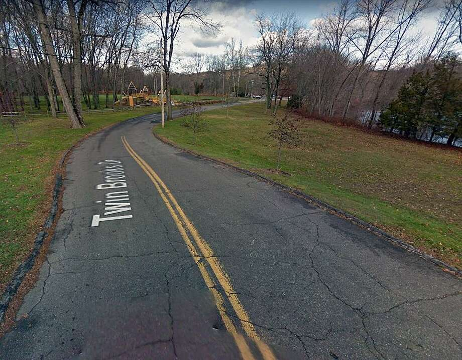 A screenshot of a Google Maps street view of Twin Brooks Drive. Trumbull, Conn., police have arrested the second of three suspects in connection with an assault on Nov. 24, 2018. Photo: Contributed Photo / Google Maps / Contributed Photo / Connecticut Post Contributed