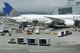on Thursday, Sept. 6, 2018 in San Francisco, Calif.  Recent contract negotiations between the city and unionized SFO workers resulted in higher minimum wages.