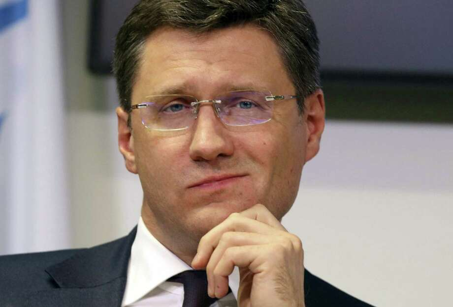 Russian Minister of Energy Alexander Novak. Russian reassurances on output cuts helped fuel a rally in crude oil prices Wednesday.  Photo: Ronald Zak, STR / Associated Press / Copyright 2018 The Associated Press. All rights reserved.