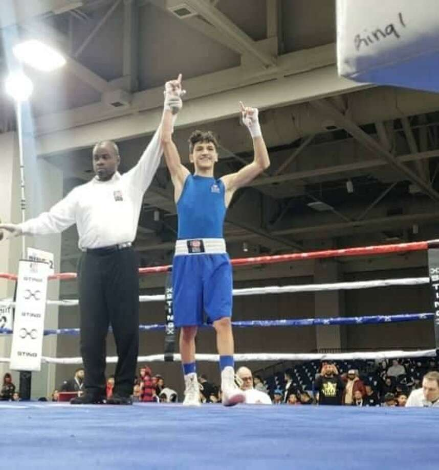 Emilio Garcia won by split decision Friday advancing to the title bout for the second straight year at the2018 Elite & Youth National Championships & Junior Prep Open in Salt Lake City, Utah. Photo: Courtesy Photo