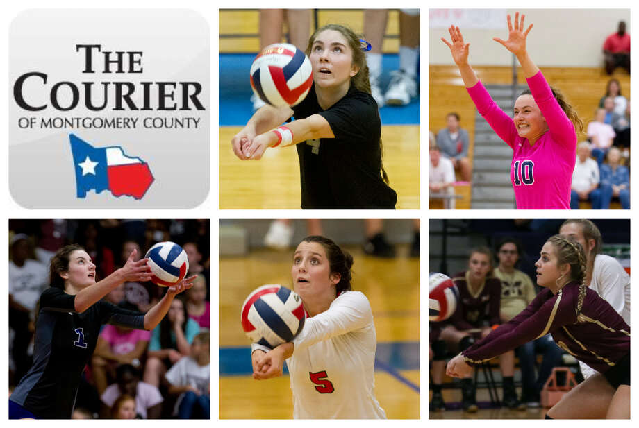 Ashlyn Cianciulli (Oak Ridge), Jill Bohnet (College Park), Makayla Bane (Willis), Georgia Murphy (The Woodlands) and Kylee Kirtley (Magnolia West) are The Courier's nominees for Defensive MVP. Photo: Staff Photos