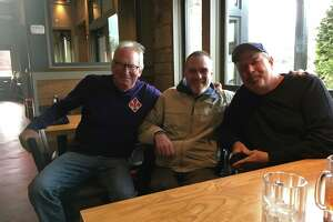 Maskin and another Bethlehem Central High School classmate, John Hausmann, took Keith Oakes to lunch last week after reconnecting with him.