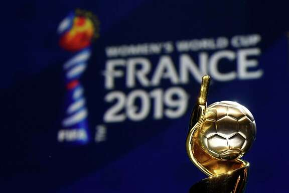 The trophy of the 2019 FIFA Women World Cup is pictured during the final draw of the 2019 FIFA Women World cup football tournament in Boulogne Boulogne-Billancourt, near Paris, on December 8, 2018. (Photo by FRANCK FIFE / AFP)FRANCK FIFE/AFP/Getty Images
