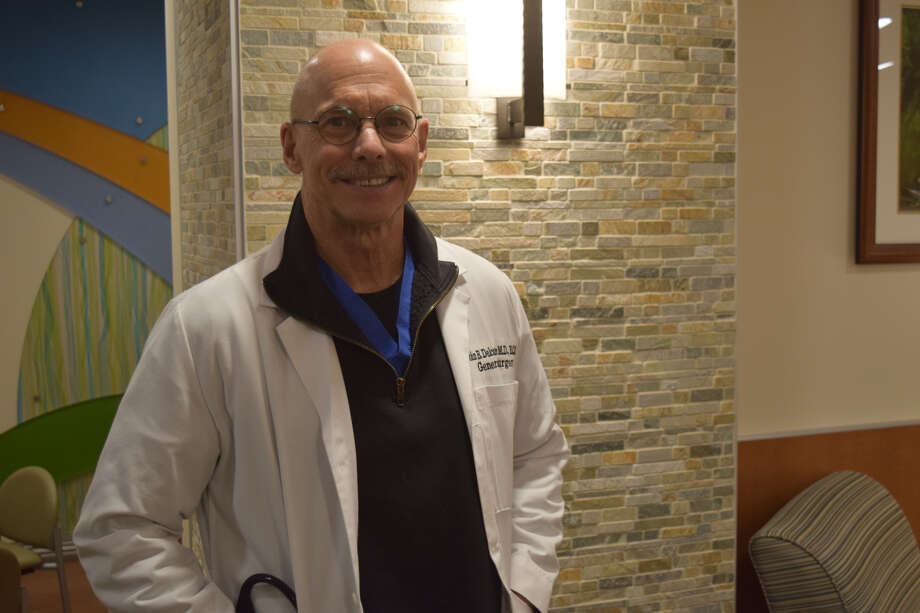 Dr. John Delcambre is stepping in as a temporary general surgeon at Covenant Health Plainview while the hospital searches for permanent replacements after the departure of two surgeons in November. Photo: Courtesy Photo