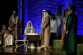 First Baptist Church live nativity photographed Dec. 8, 2018. James Durbin/Reporter-Telegram