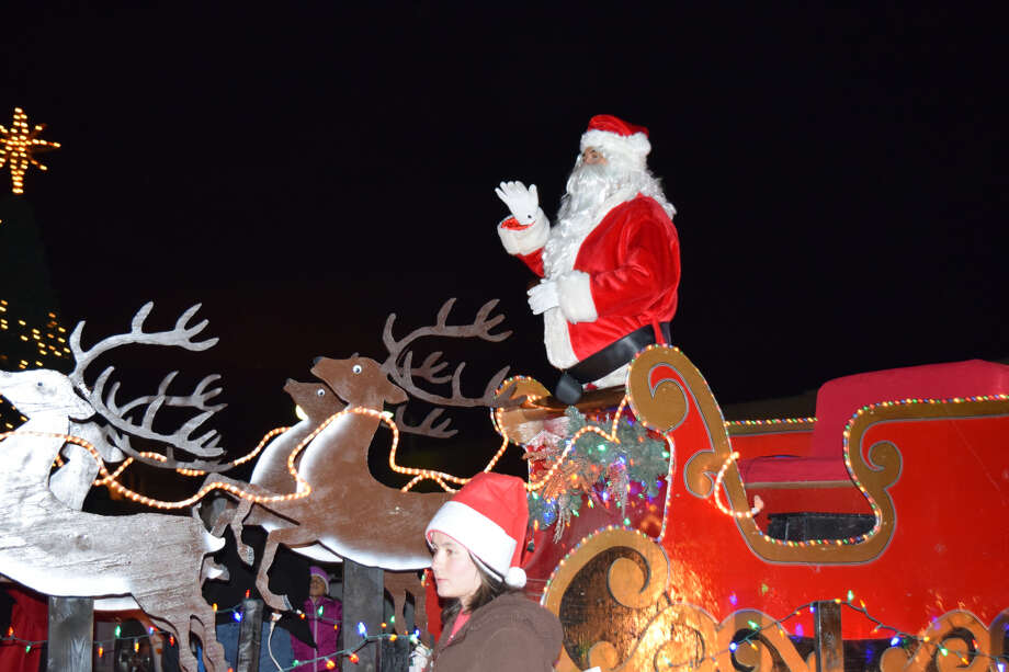 The Christmas Parade of Christmas Lights is organized by the Plainview Chamber of Commerce and included at least 110 entries this year. Photo: Plainview Herald