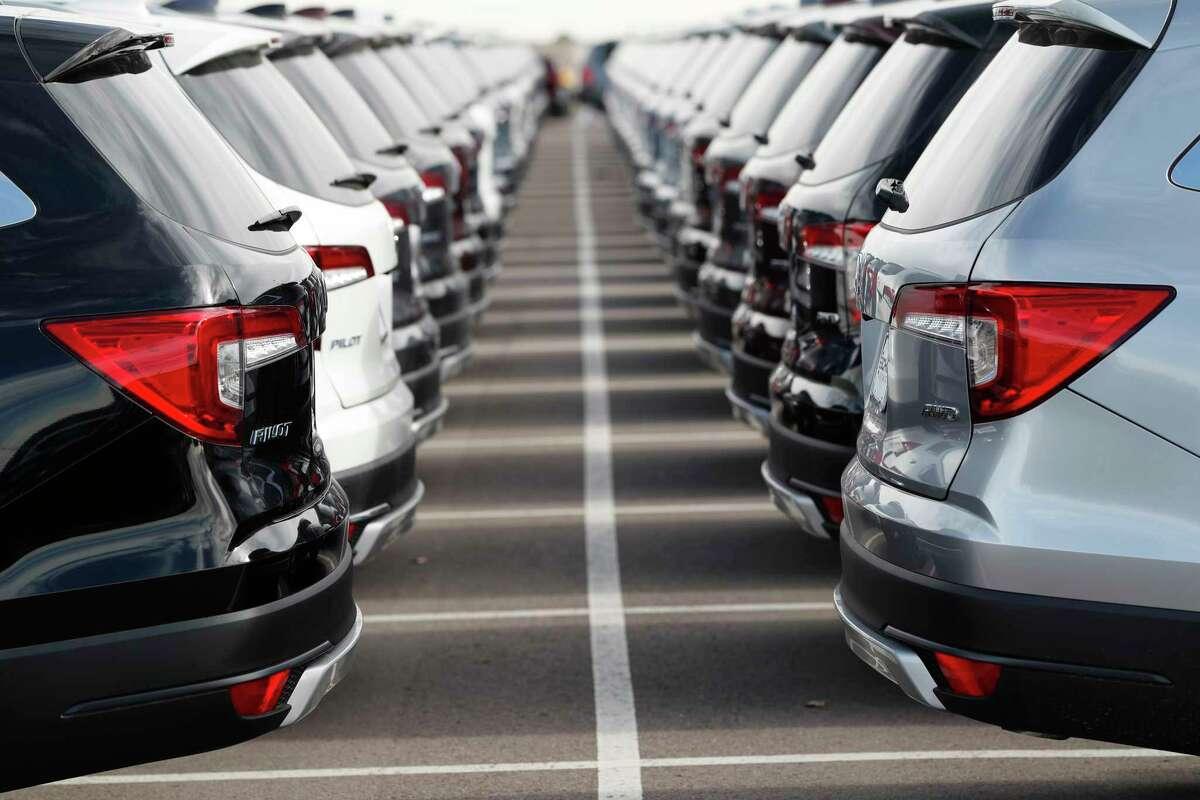 Car fees add up. (AP Photo/David Zalubowski)