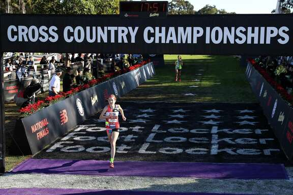 Montgomery senior Allison Wilson placed 12th at the Foot Locker Cross Country Championships in San Diego on Saturday, Dec. 8, 2018.