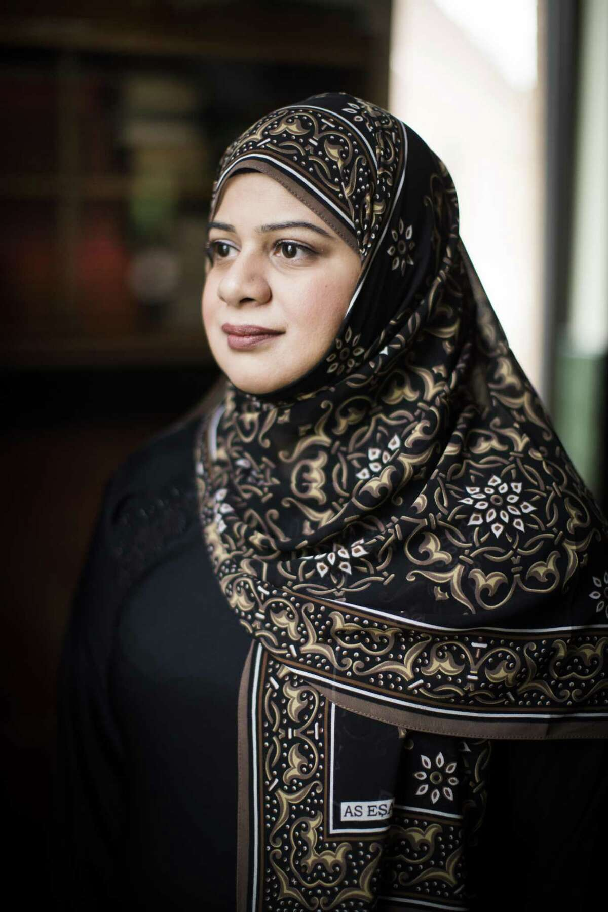 Sarah Alikhan, 42, who has a long history of civic work and leadership is running for for Shura, the governing body of the Islamic Society of Greater Houston, Thursday, Nov. 29, 2018, in Sugar Land. Alikhan would be the first woman to do so.