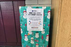 The Wedge Inn restaurant, at 885 Summer St. in Stamford, Conn., will accept donations through Dec. 18, 2018, that the owners said will be donated to Clothes To Kids of Fairfield County, an organization that provides new and quality used clothing to low-income or in-crisis school age children.