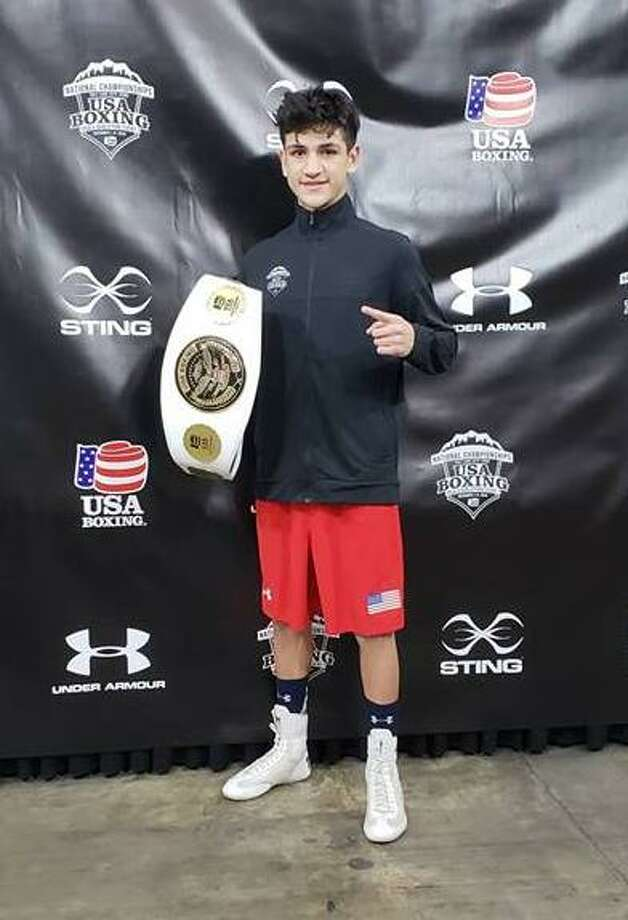 Laredoan Emilio Garcia of Baby Joey's Boxing Club won the junior men's 125-pound division national championship on Saturday in Salt Lake City, Utah as part of the 2018 Elite & Youth National Championships & Junior Prep Open. Photo: Courtesy Of Baby Joey's Boxing Club