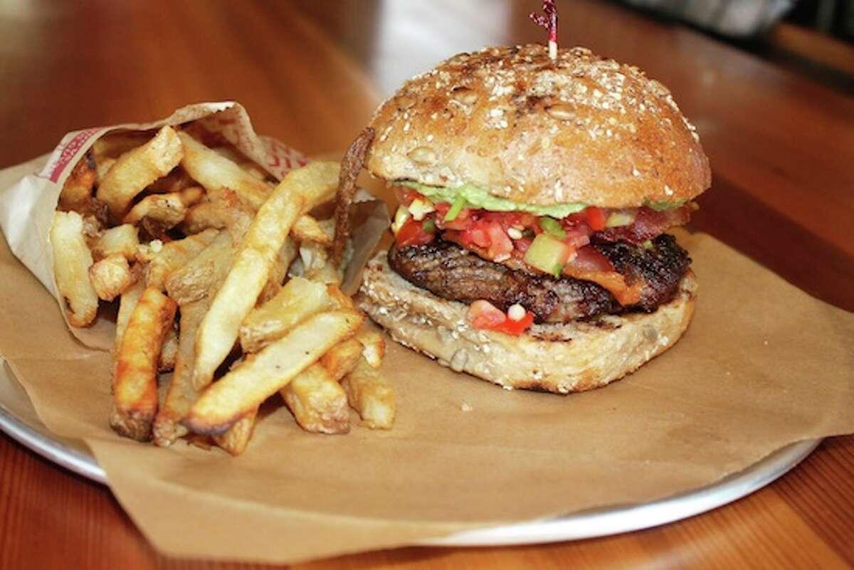 B. GOOD - Fairfield, Greenwich, Glastonbury, Canton Plant-based protein options: Veggie burger, Eggplant meatballs Website