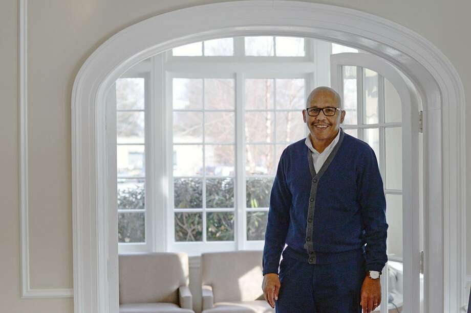 Since joining Wesleyan in 1985, Cliff Thornton, associate dean of admission, has been instrumental in establishing and leading the school's historic commitment to a diverse and academically elite student body. Thornton recently announced his retirement at the end of the spring 2019 semester. Photo: Olivia Drake Photo