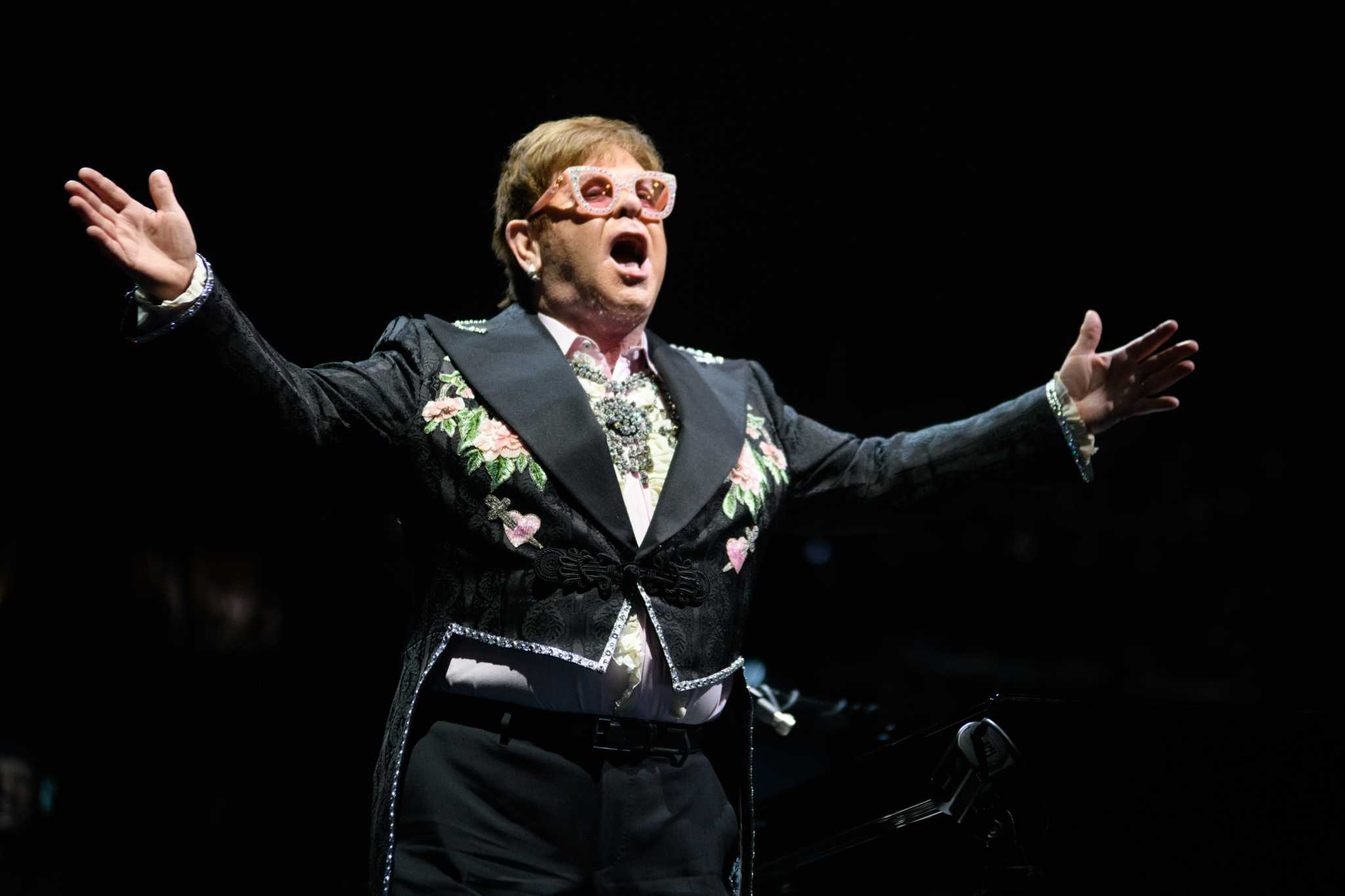 Elton John is bringing his 'Farewell' back to Houston for two shows