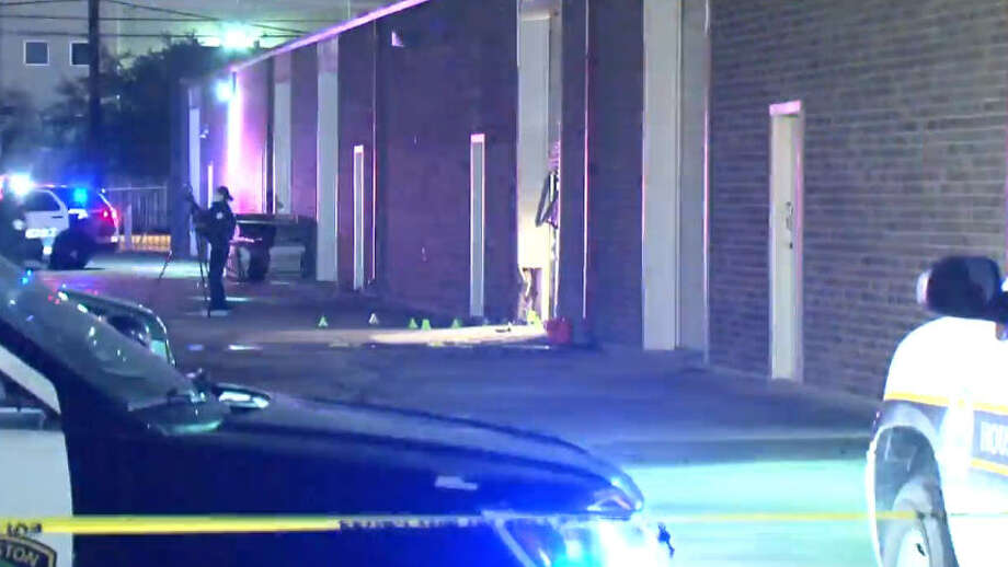 One person was shot to death around midnight in northern Harris County. Photo: Metro Video
