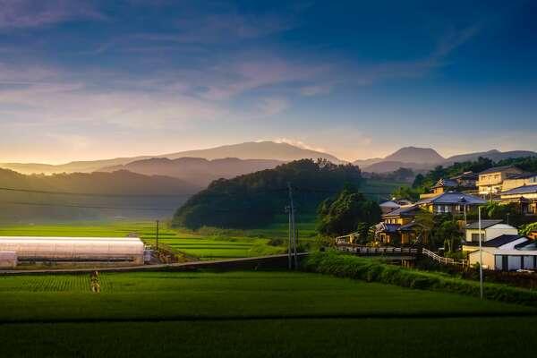 Rural Japan, near Saga.