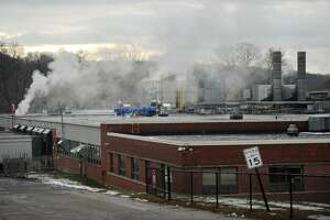 Latex foam manufacturer Talalay Global's factory at 510 River Road in Shelton, Conn. on Tuesday, December 12, 2017.